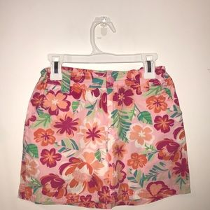 Circo floral skirt with built in shorts!